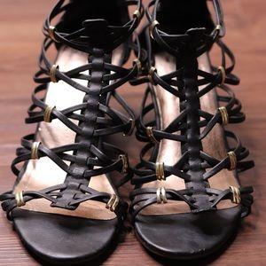 Steve Madden Madden Girl Strappy Black Sandals